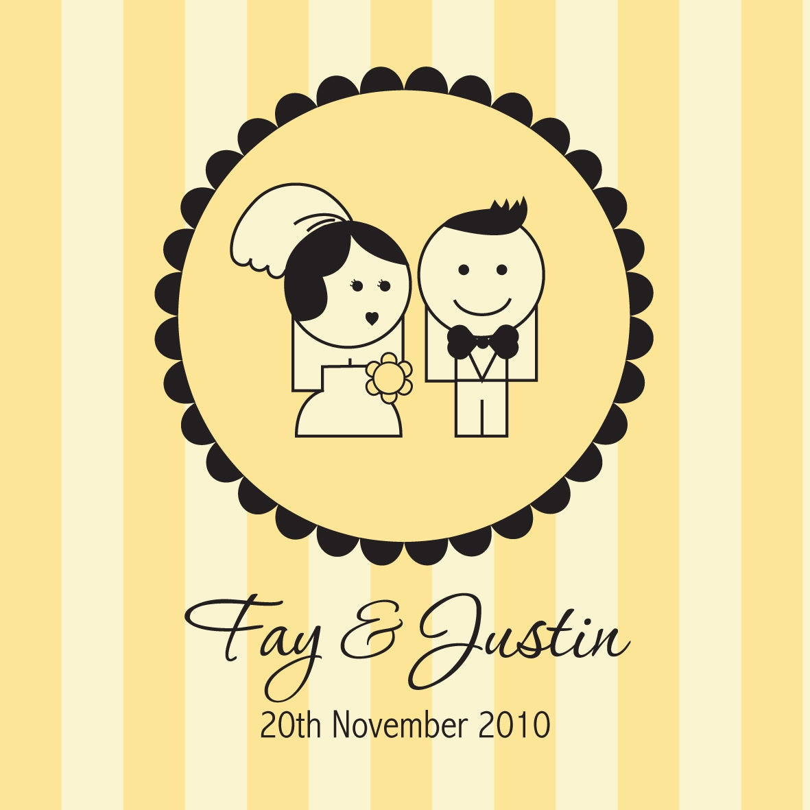 Photo Booth Personalised logo